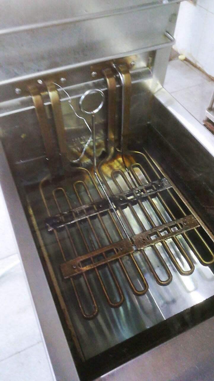 油炸锅扁形电加热管